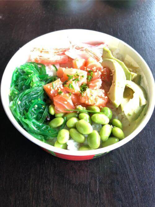 zalm pokebowl